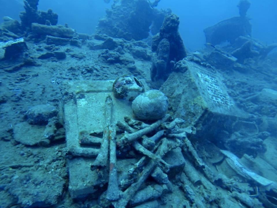 Skulls and Bones on the Aikoku Maru