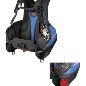Mares Prime BCD without weight pockets a standard wrap around jacket style bcd