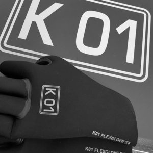 Spyder k01 guanti flex glove 5/4mm neoprene with seam sealed stitching and skin in material