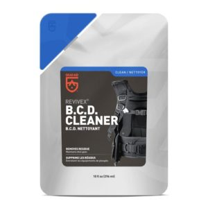 Gear Aid Revivex BCD Cleaner in a reusable plastic bag