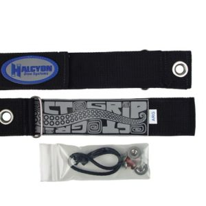 halcyon argon mounting straps with shockcord and book screws