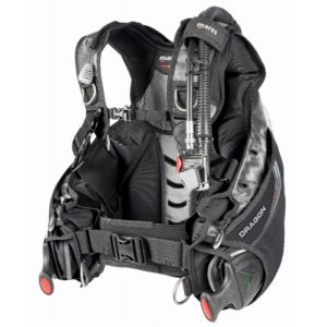 mares dragon sls bcd a high end hybrid jacket bcd with sis weight system
