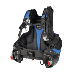 mares prestige sis bcd black and red with slide lock weight system and red handles
