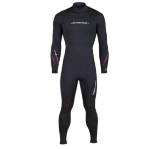 Henderson Thermaxx Wetsuit black long sleeve long arms all black