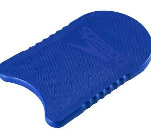 Speedo Adult Team Kickboard a blue kick board with rounded chest cut out