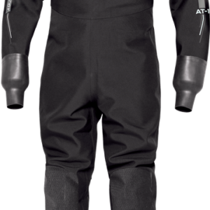 Bare Aqua-Trek 1 Pro Drysuit is a simple thin drysuit for the average recreational diver at a good price. black suit latex wrists, neoprene sock and neoprene neckseal