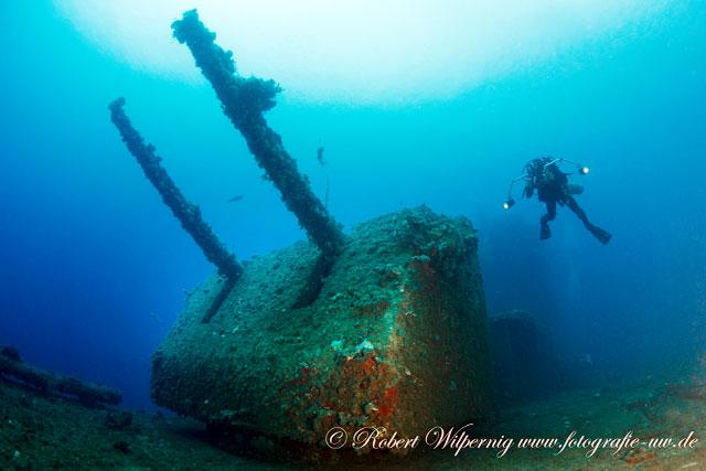 bikini atoll shipwreck