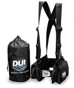 dui weight and trim classic harness with right hand release and quick release waist strap and quick dump harness releases