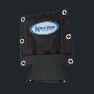 halcyon mc storage pan with grommet holes