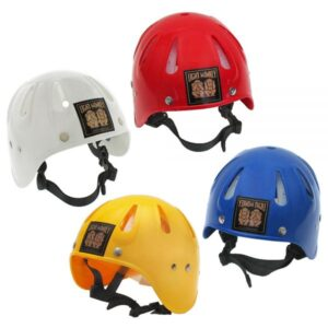 Light Monkey Cave Diving Helme white red yellow blue