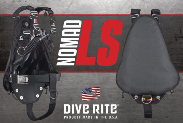 Dive Rite Nomad LS Sidemount BCD with Super Fabric