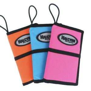 halcyon diver's notebook orange, light blue, pink