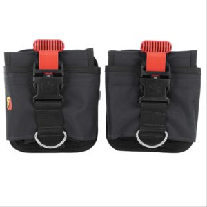 Dive Rite 32lb QB Weight Pocket weight systemconsists with red quick release buckles