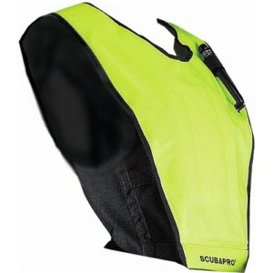 Scubapro Cruiser Snorkel Vest Neon Yellow with black neoprene backing for added floatation