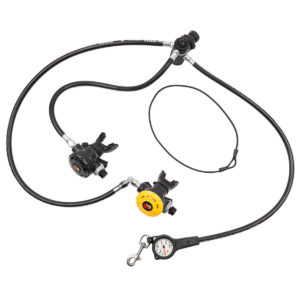 Dive Rite XT Regulator Package with primary, octopus and spg in DIN