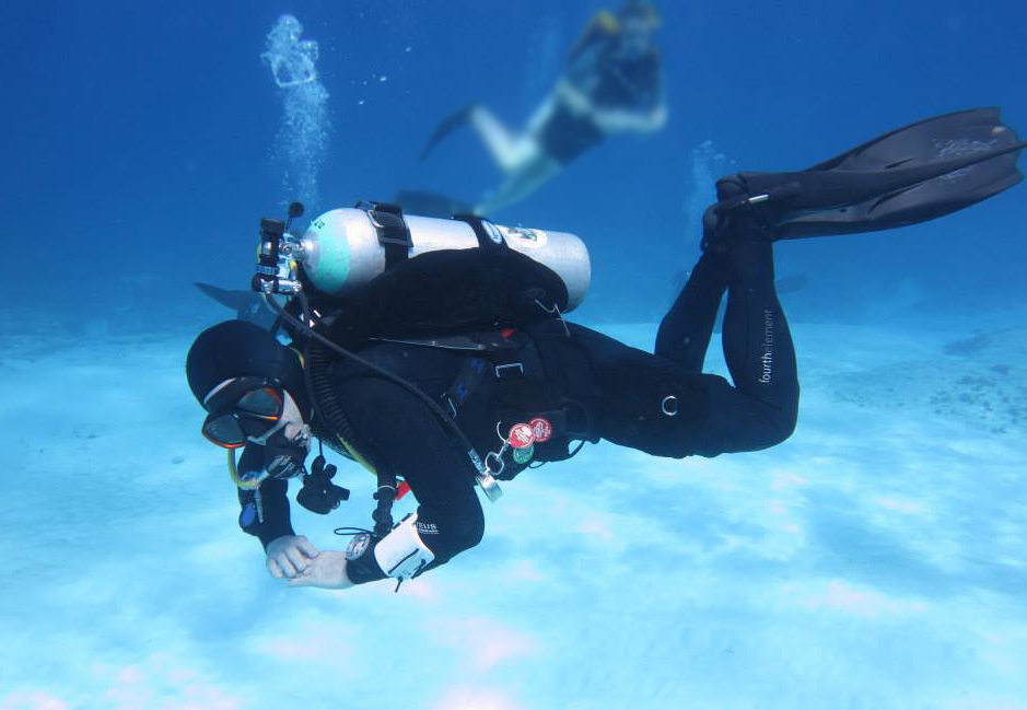 There's nothing more freeing than enjoying your backplate on a DDS dive trip to Mexico