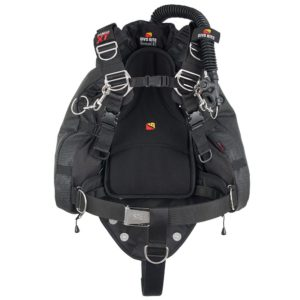 dive rite nomad xt bcd with super fabric wing and quality transpacific harness and butt pad