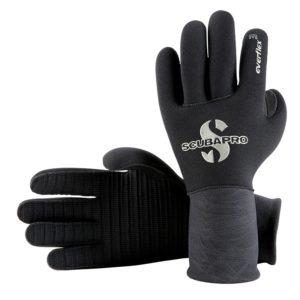 scubapro everflex gloves 3mm black 5 finger