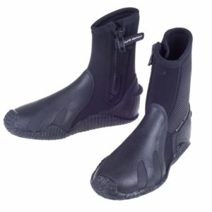 Fourth Element Pelagic Boots 6.5mm zippered with double moulded sole, toe and heal cap with ergonomic footbed support