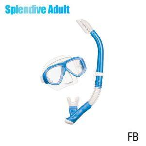 Tusa Splendive Adult Combo Fishtail Blue