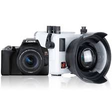 Ikelite canon rebel sl3 camera white or black with ikelite housing and lens package