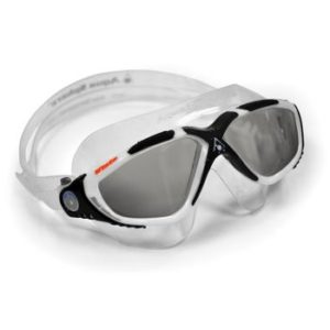 Aqua Sphere Vista Goggles white black and gray goggles with tinted lenses