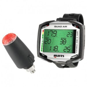 mares quad air computer back-lit with optional led red light transmitter
