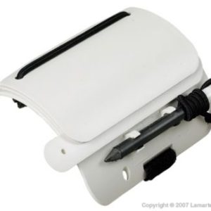 dive rite wrist slate with 5 wiring surfaces and graphite pencil, bungee and cap