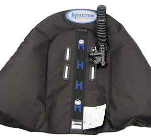 Halcyon Explorer CCR35 Rebreather Wing with inflator hose