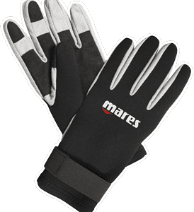 mares amara glove a 2mm amara palm with neoprene backing and velcro straps