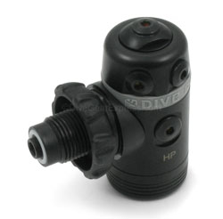 Dive Rite XT1 First Stage is a swivel first stage all DIN with environmental seal and end port low pressure port