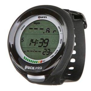 mares puck pro plus computer wrist model with strap