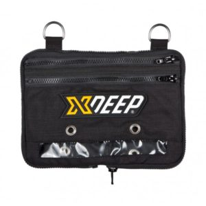 xDeep Expandable Cargo Pouch is made from high-quality, durable Cordura material. Equipped with not one, but two steel D-ring as a additional mount points, and two partitions enclosed with a zipper. Two double-ended carabiners and bungee strap included providing convenient attachment to your harness. By sliding the zipper it is possible to further extend the space provided by the cargo bag if you ever need to pack up something bigger
