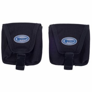 halcyon trim weight pockets with velcro closer and male/female quick release connector