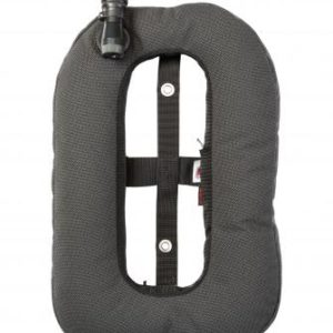 Dive Rite Travel XT Wing is a donut shaped wing made of Super Fabric with inflator and exhaust valve, lifetime warranty