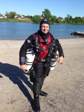 Sidemount Courses at the Old Welland Canal