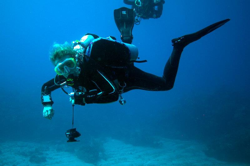 DDS Diver on Vacation with DDS