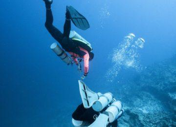 Divers with Scubapro Jet Fins