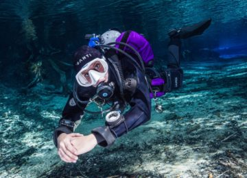 buoyancy on display with Custom Purple Halcyon wing