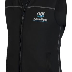 DUI DuoTherm Vest 300 front zipper no sleeves 300 weight polartec